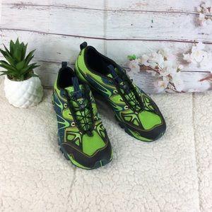 Merrell Performance Green & Blue Sneakers Sz 9.5